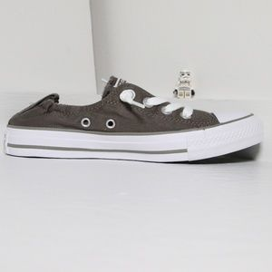 Converse Charcoal Shoreline All Star Slip Ons